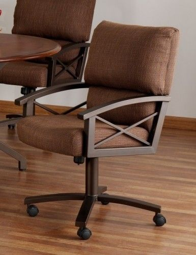 1000 images about Dining Chairs on Rollers on Pinterest