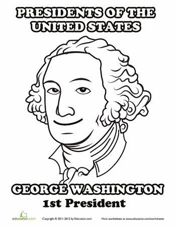 Us presidents, George washington and Worksheets on Pinterest