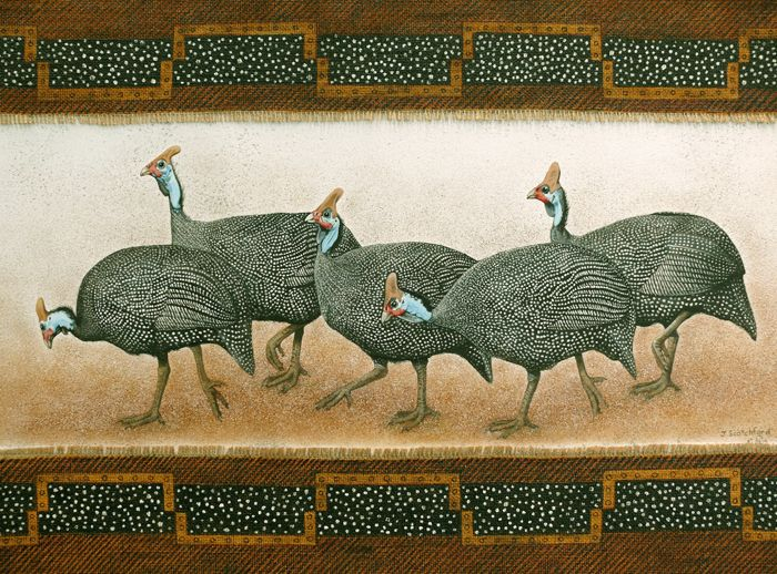 Guinea Fowl Paintings Your Paintings For The Birds