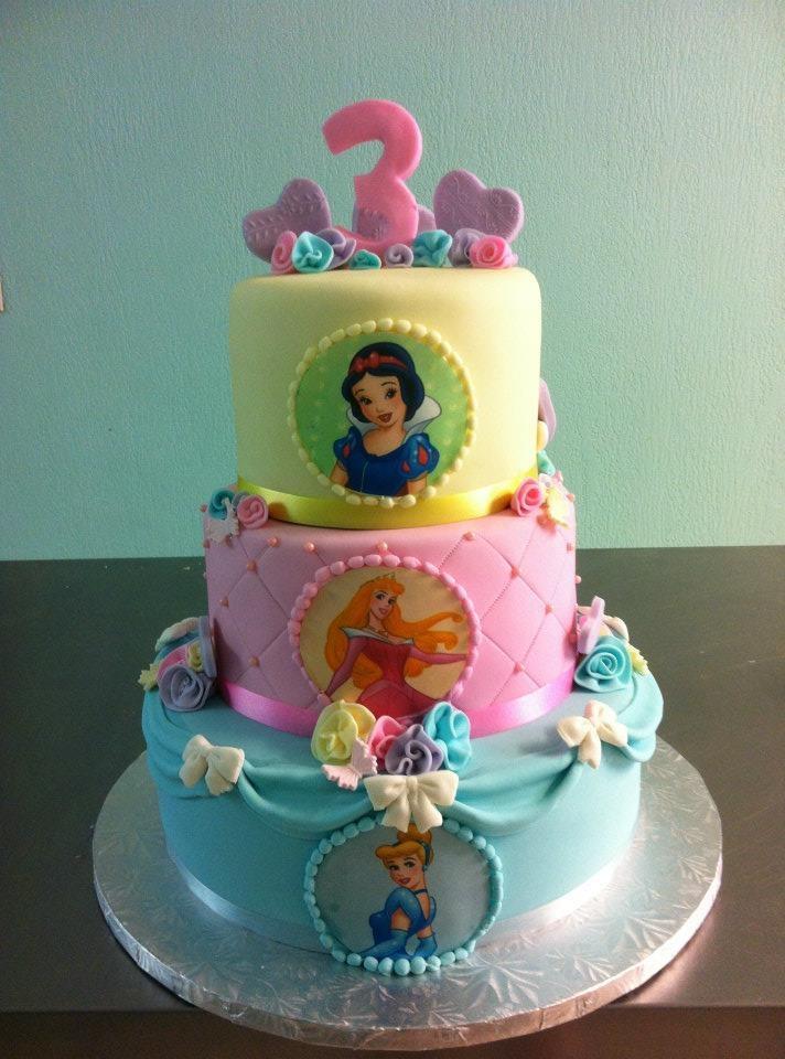 Disney Princess Birthday Cake Wwwsweetnessbakeshopnet Facebookcom