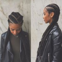 Best 25+ Cornrows With Weave ideas on Pinterest