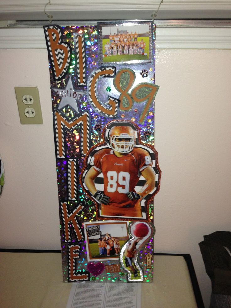 Decorating lockers for homecoming for Cheerleading decorations