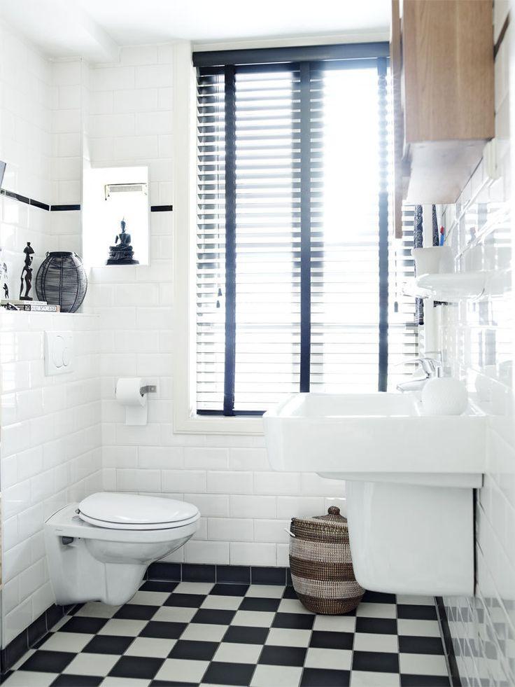 25 beste ideen over Witte tegels in de badkamers op
