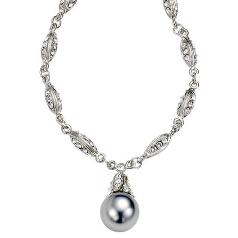17 Best ideas about Pearl Pendant Necklace on Pinterest