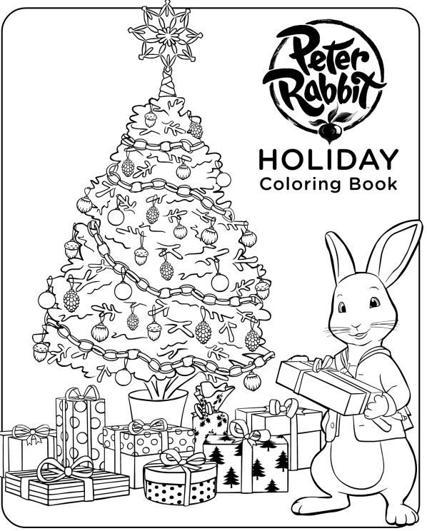 Get in the holiday spirit with this Peter Rabbit Holiday
