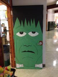 Frankenstein door for my first grade classroom ...