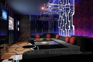 karaoke interior nightclub rooms club bar entertainment night interiors lounge luxury restaurant designs google arcade commercial awards dining bowling alley