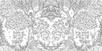 Enchanted Forest: An Inky Quest & Colouring Book | Color ...