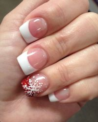 17 Best ideas about Christmas Nail Designs on Pinterest