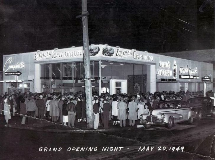 Chin Kitchen Opening Night Portland 1949