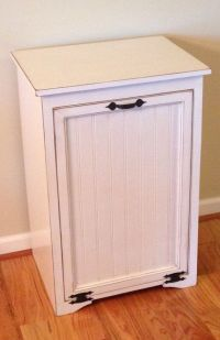 Large Tilt Out Trash Can Cabinet by TinBarnCreations on ...