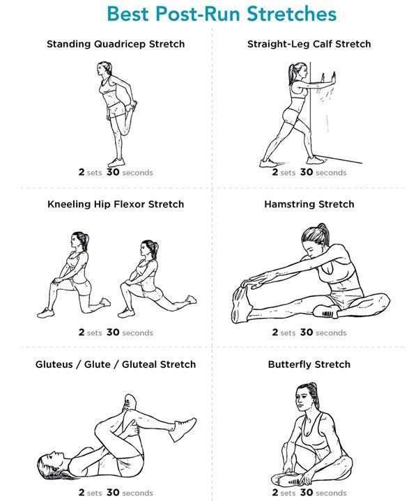 25+ best ideas about Post Run Stretches on Pinterest