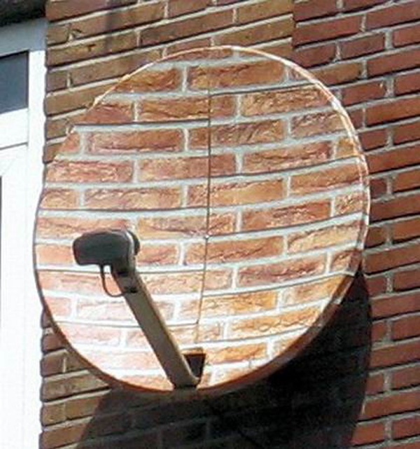 Decorating Ideas For Satellite Dish  Interior Design