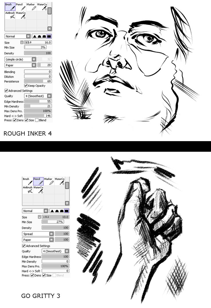 17 Best images about Art ref; paint tool sai brushes on