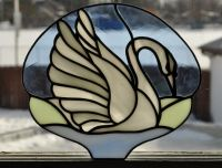 17 Best images about Stained Glass - Birds - Swans on ...