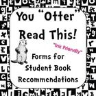 25+ best ideas about Book Recommendation Form on Pinterest