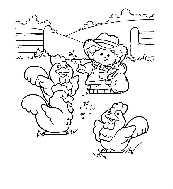 15 Best Fisher Price Coloring Pages Images