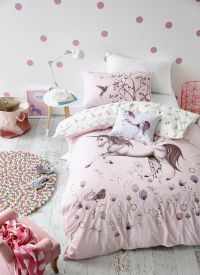 Adairs Kids Unicorn Dreaming Quilt Cover Set   Kids ...