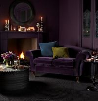 Best 25+ Purple Sofa ideas on Pinterest | Purple living ...