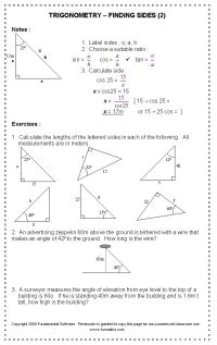 48 best images about Maths - Right Angled Triangles on ...