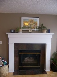 How To Build A Simple Fireplace Mantel