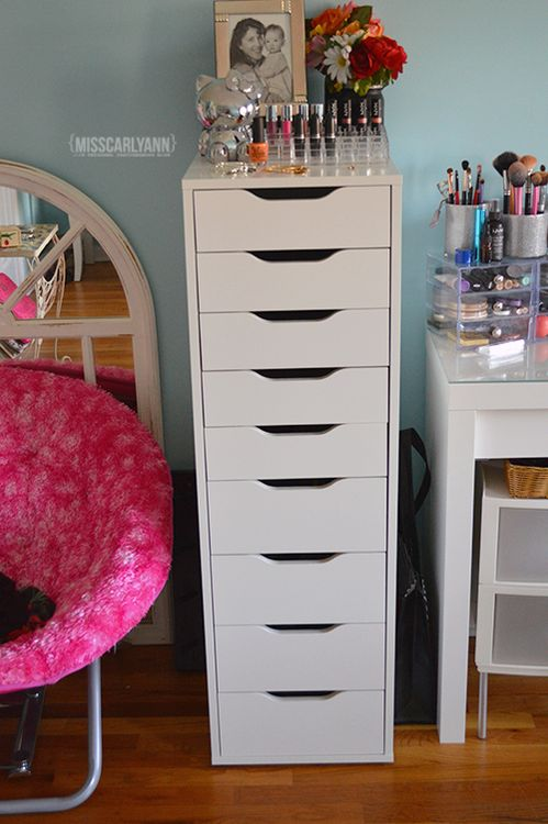1000 ideas about Ikea Makeup Storage on Pinterest