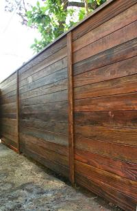 25+ best ideas about Horizontal Fence on Pinterest ...