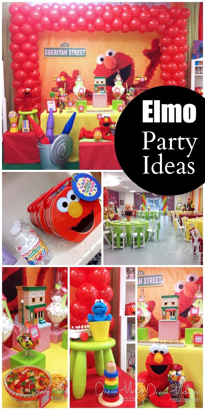 Southern Blue Celebrations Sesame Street Party Ideas