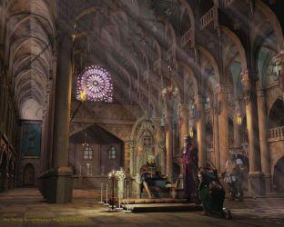 Medieval Fantasy Throne Rooms
