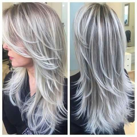 25 best ideas about gray highlights on pinterest gray hair highlights silver highlights and