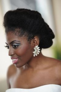 342 best images about natural hair brides on Pinterest
