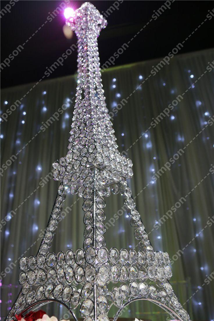 10pcslot Free shipment Candelabra centerpiece Eiffel