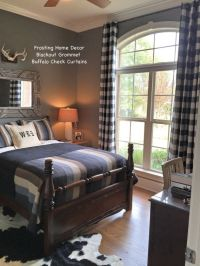 17 Best ideas about Plaid Curtains on Pinterest   Buffalo ...