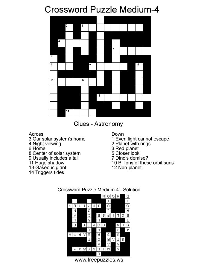 61 best images about Crossword Puzzles on Pinterest
