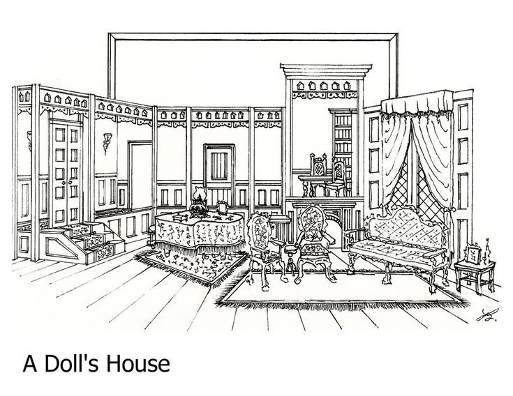 159 best images about Line Drawings--Scene Design on