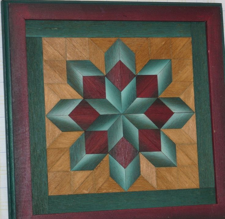 Parquetry Framed Art And Amish On Pinterest