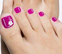 25+ best Flower Toe Designs ideas on Pinterest | Pedicure ...