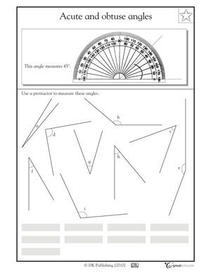 14 best Angle Worksheets images on Pinterest