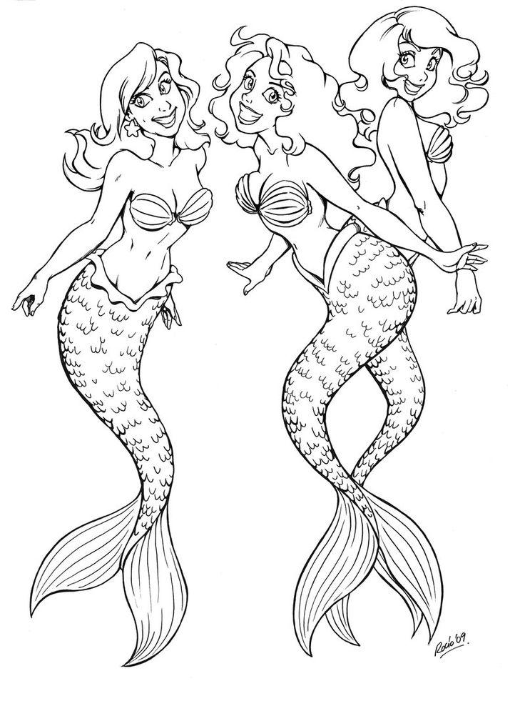 17 Best ideas about Mermaids Pattern on Pinterest