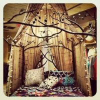 Canopy and tree bed frame |  HOME  | Pinterest | Tree ...