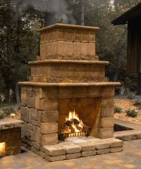 Best 25+ Outdoor Fireplace Kits ideas on Pinterest ...