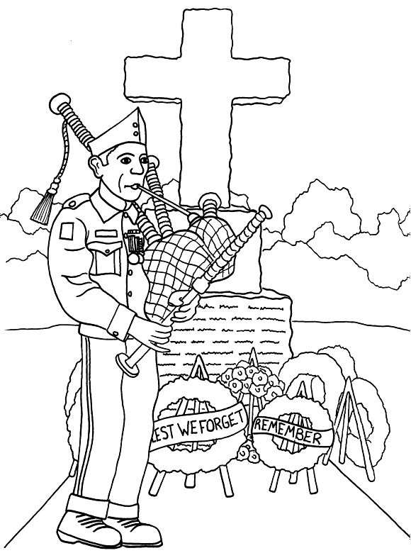 21 best images about Veterans day coloring pages on