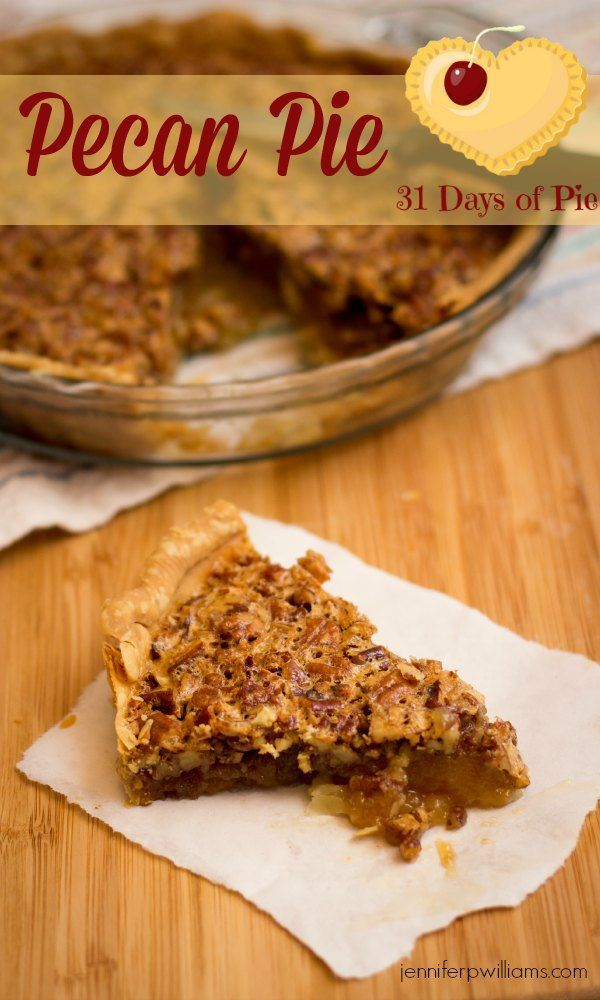 My husband says my easy pecan pie recipe is better than his mothers!