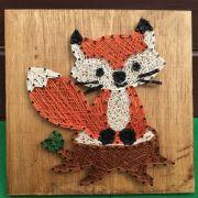 little fox string art rhapsodycrafts