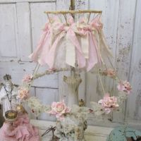728 best images about shabby chic lampshades! on Pinterest