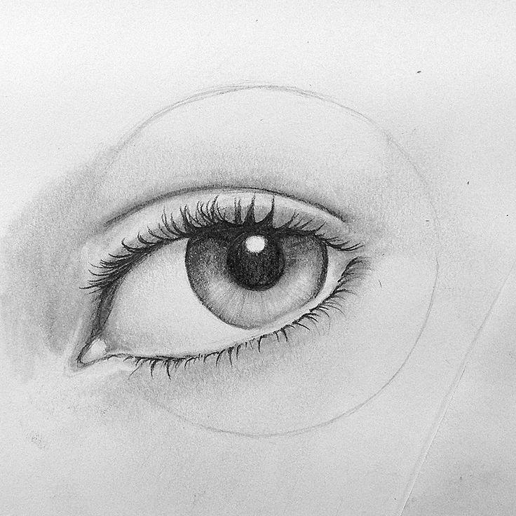 12 best images about Auge Zeichnen Schritt für Schritt