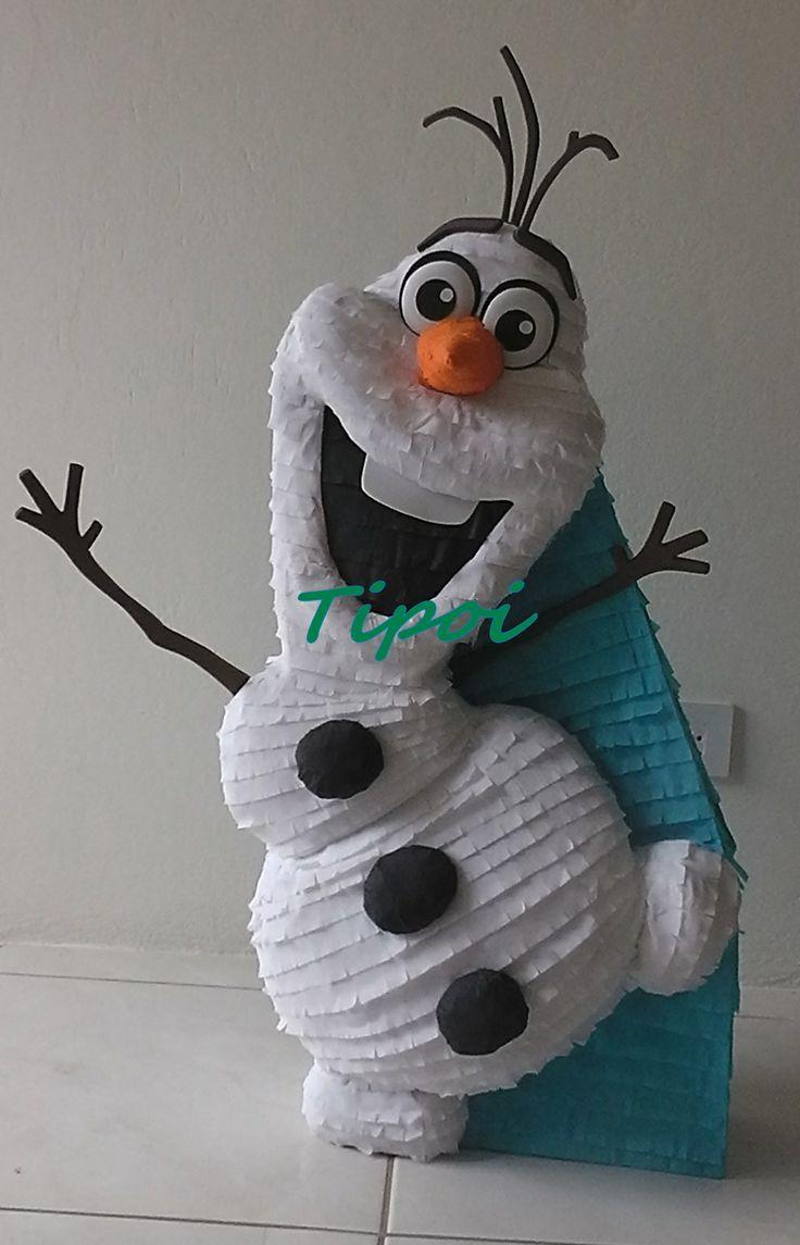 Piata Olaf Frozen  Piatas  Pinterest  Frozen Olaf