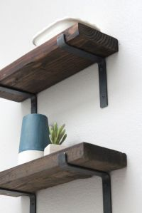 25+ best ideas about Rustic Shelves on Pinterest | Shelves ...