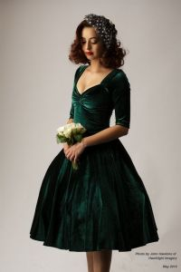 25+ best ideas about Green Velvet Dress on Pinterest ...