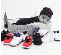 Baby & Jordans, I'm sooo doing this if I have another boy ...
